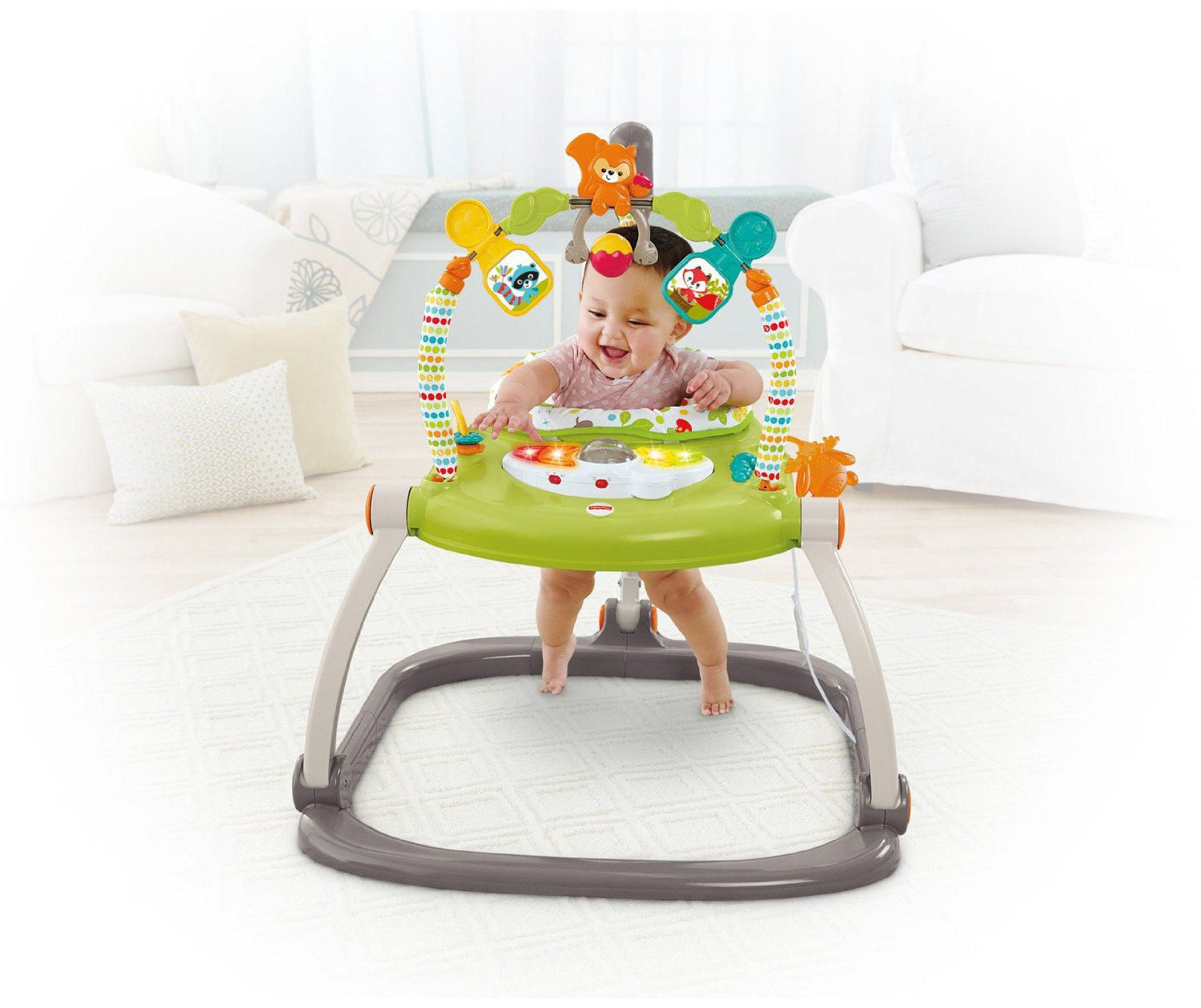 063024839 Fisher-Price Woodland Friends Spacesaver Jumperoo